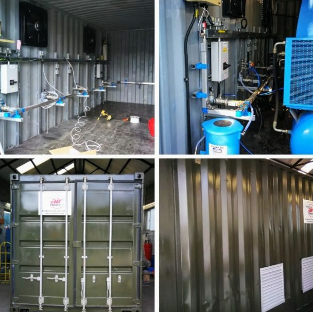 Air Compressor Storage Container Conversions