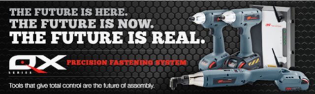 Ingersoll Rand Launch New QX Cordless Precision Fastening Tools